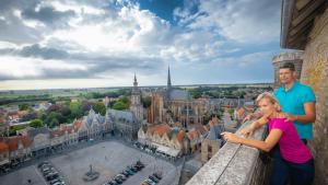 Uitzicht over Veurne