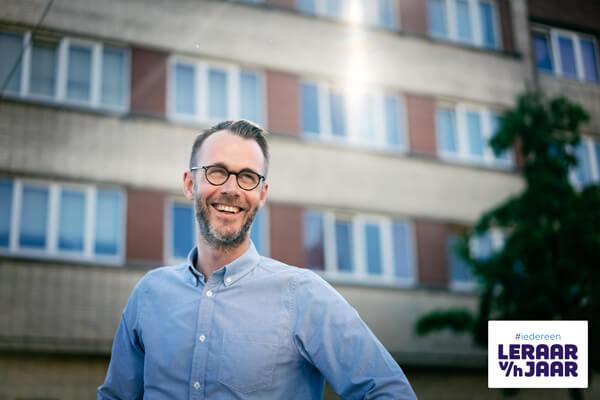 Hoofdredacteur Hans Hans Vanderspikken