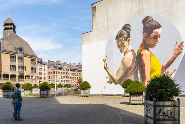 Louvain-La-Neuve - Street Art