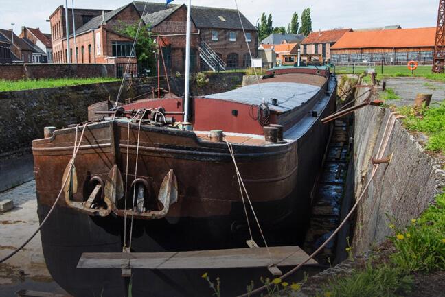 het Scheepvaartmuseum Baasrode