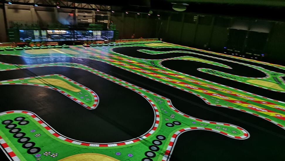 circuit om te karten