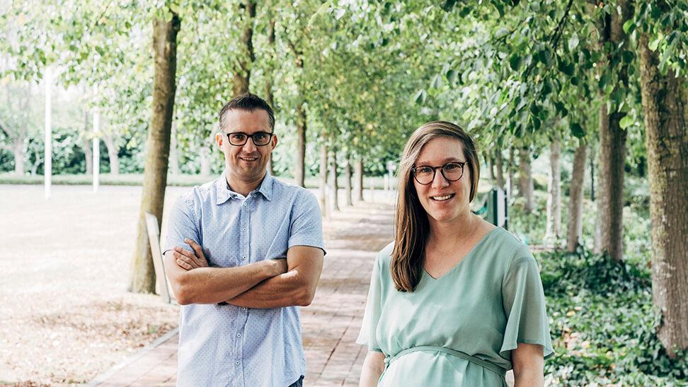 Laura Thomas en Ruben Vanderlinde (UGent) over steun aan starters