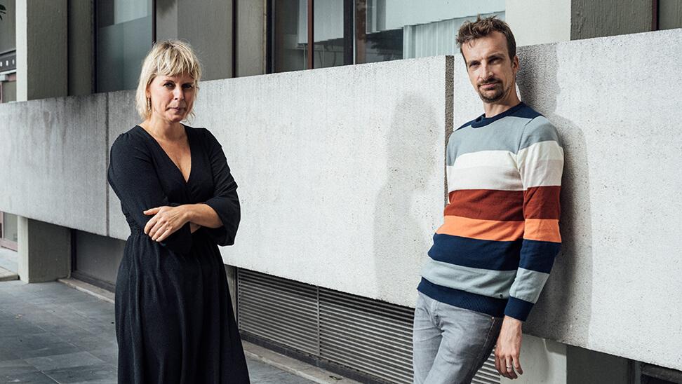 armoede-experts Griet Roets en Wim Van Lancker