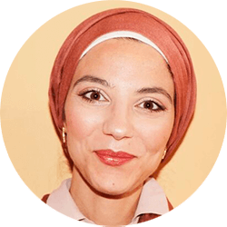 Heifa Mabrouk, leraar Nederlands en plastische opvoeding