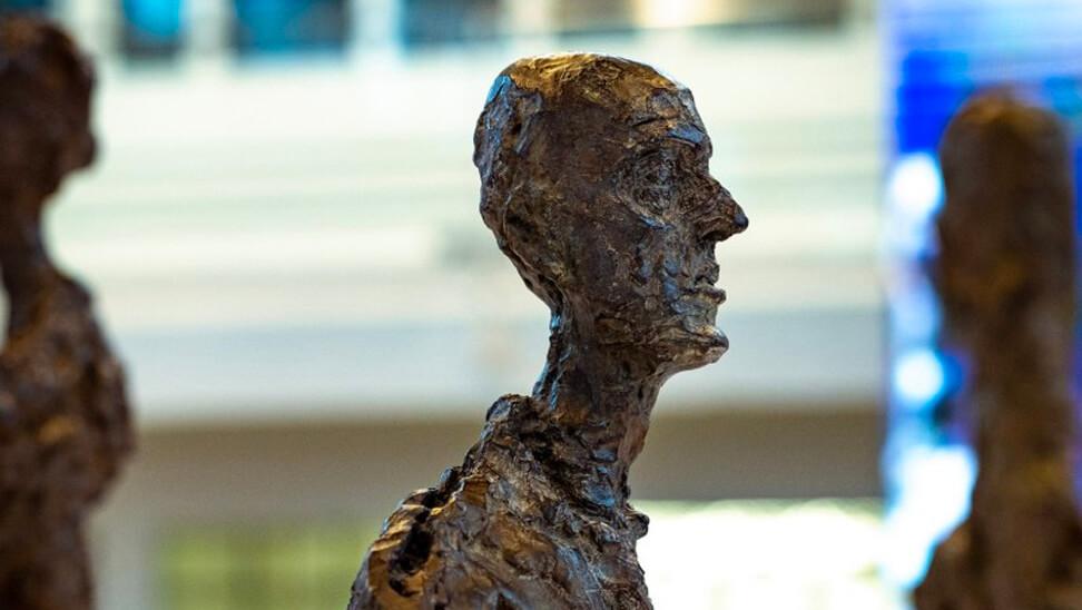beeld van Alberto Giacometti