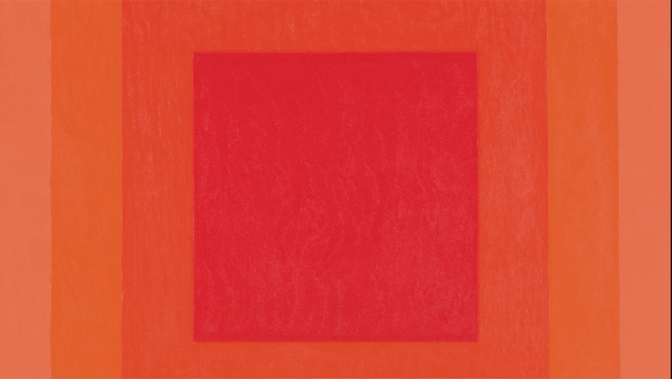 Homage to the Square. Signal van Josef Albers