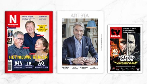 covers van Newsweek en bijlagen