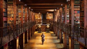 Nottebohmzaal in Erfgoedbibliotheek Hendrik Conscience