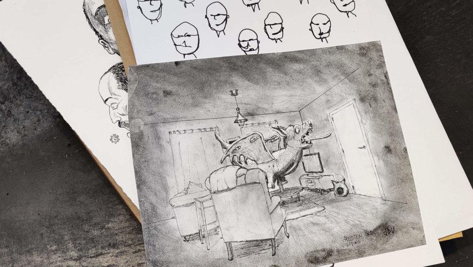 verzameling tekeningen