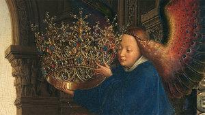 details uit werk van Van Eyck