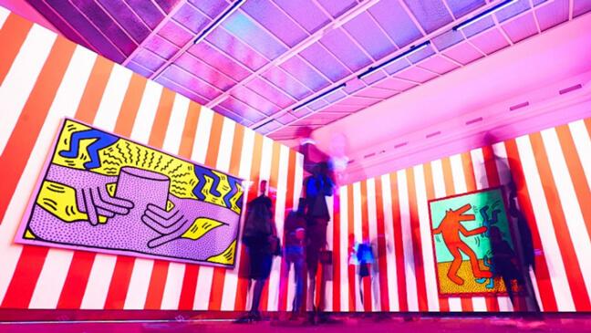 expo van Keith Haring