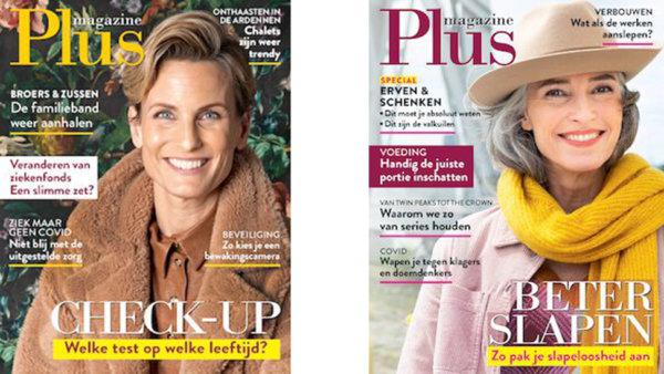 covers van het Plus magazine