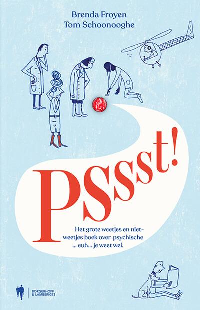 Cover van 'pssst'