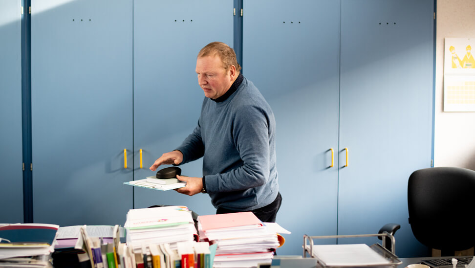 Divers schoolteam: directeur Wilfried De Hert