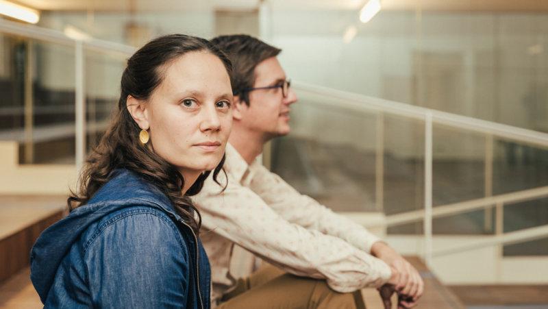 Experten Piet Van den Bossche en Sara Van Waes (UAntwerpen) - Kennis en netwerken