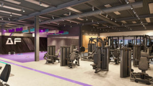 Fitnesstoestel in anytime fitnes in Genk