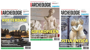 covers van Archeologie magazine