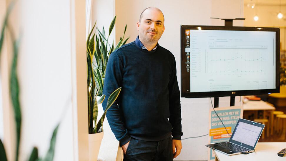Portret Maarten Devos