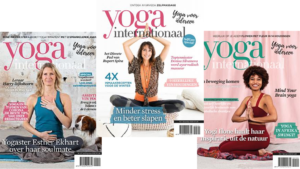 covers van Yoga internationaal magazine