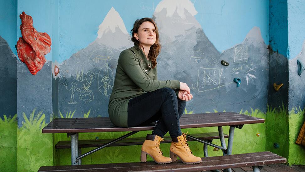 Annelies Steenacker, directeur in basisschool François Laurentinstituut