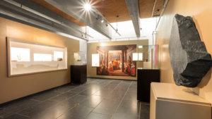 Beeld uit het Koninklijk Museum van Mariemont tijdens de expo 'De wereld van Clovis'