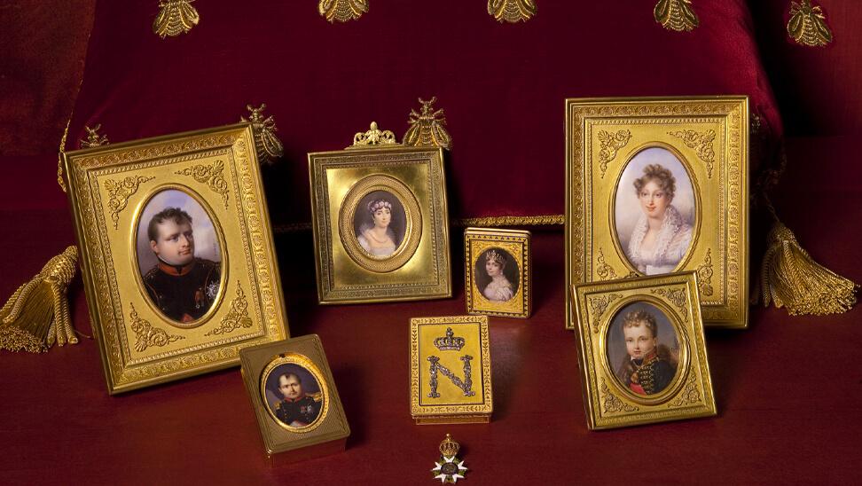 Beeld uit de expo 'napoleon, voorbij de mythe'