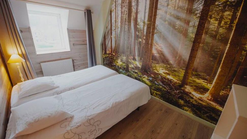 Slaapkamer in Gîte Halte d'Ardenne