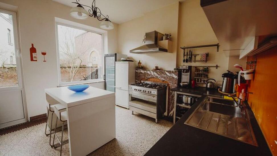 Keuken in Gîte Halte d'Ardenne