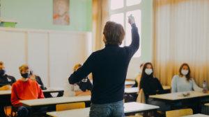 Brecht Decoene voor de klas