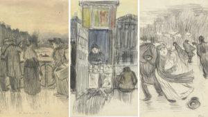 3 werken van Henri Evenepoel