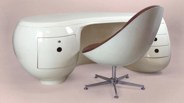 beeld uit de expo 'het bureau'