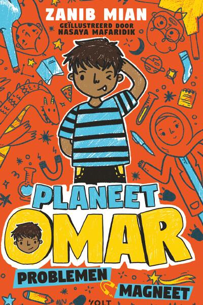 cover boek 'Planeet Omar: Problemenmagneet'