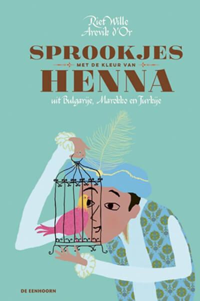 cover boek 'Sprookjes met de kleur van henna'