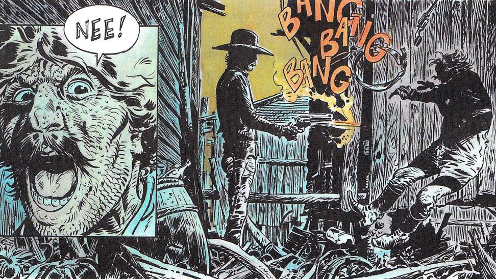 Deel van een stripverhaal