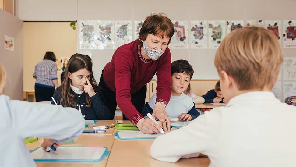 leraar in de miniklas