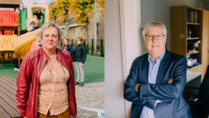 portret van Geert De Vos en Nadia Robberechts