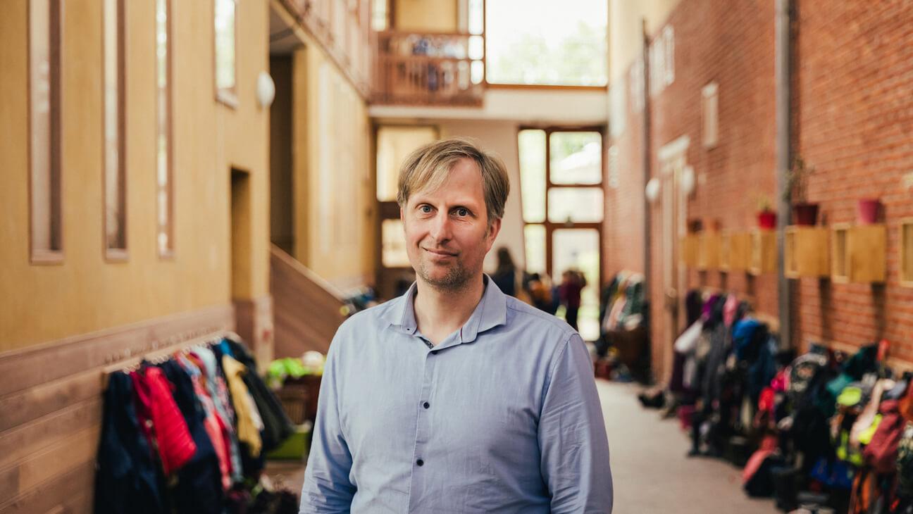 Portret Directeur Sigurd Borghs