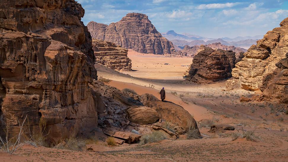 Wadi Rum, Petra, Jordan, 2019
