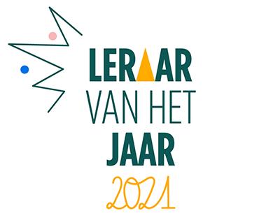 Logo Leraar van het Jaar 2021