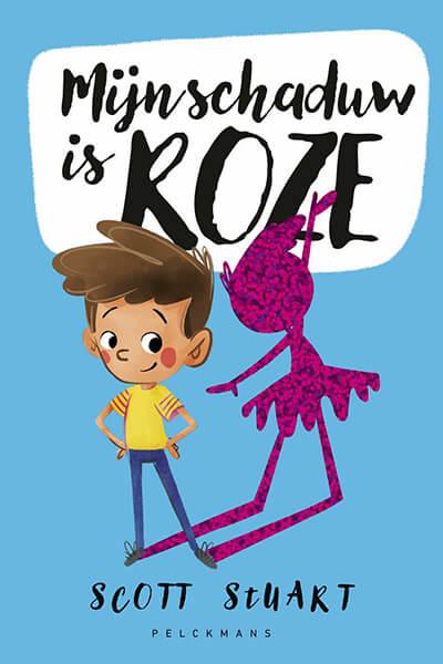 cover boek 'Mijn schaduw is roze'