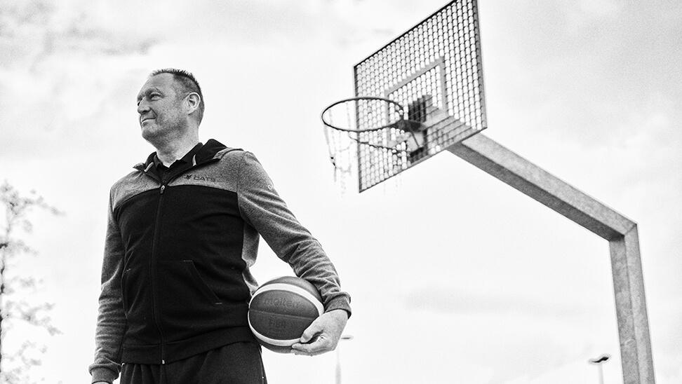 Bondscoach basket Philip Mestdagh