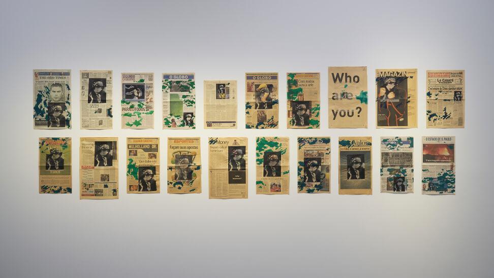 beeld uit de expo van Anna Bella Geiger