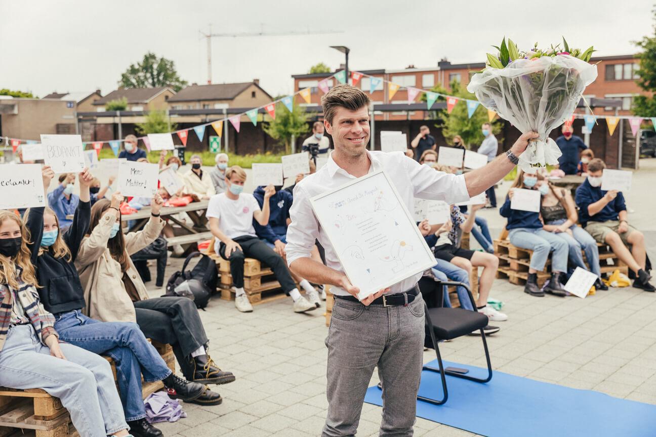 Arvid De Muynck – Leraar van het Jaar 2021.
