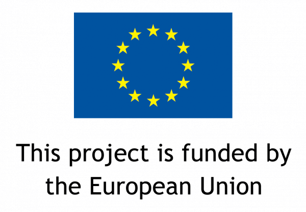 logo no cap en Europese vlag