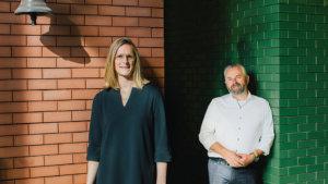 Coördinatoren Aanvangsbegeleiding Marc Werbrouck en Tine Vandewalle