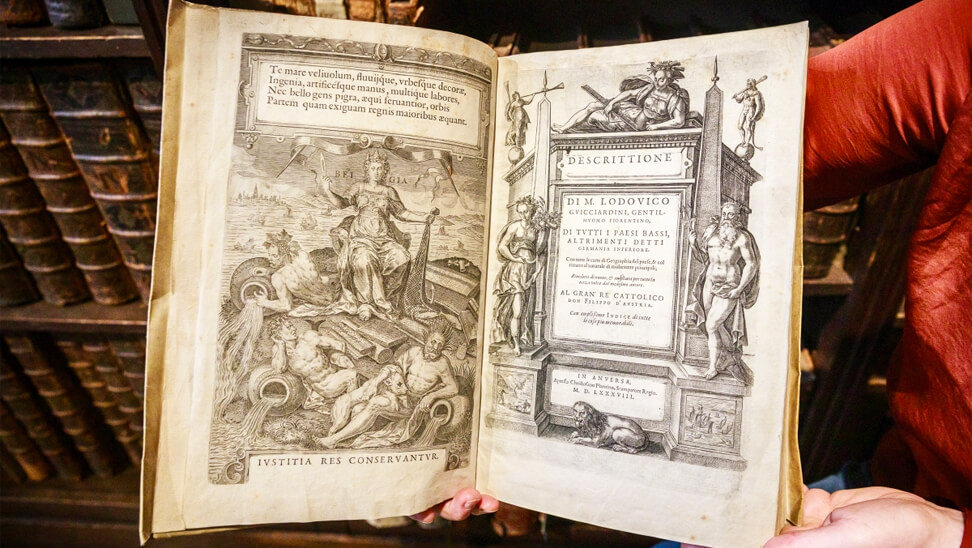 Boek uit de expo 'komt een italiaan naar de nederlanden'