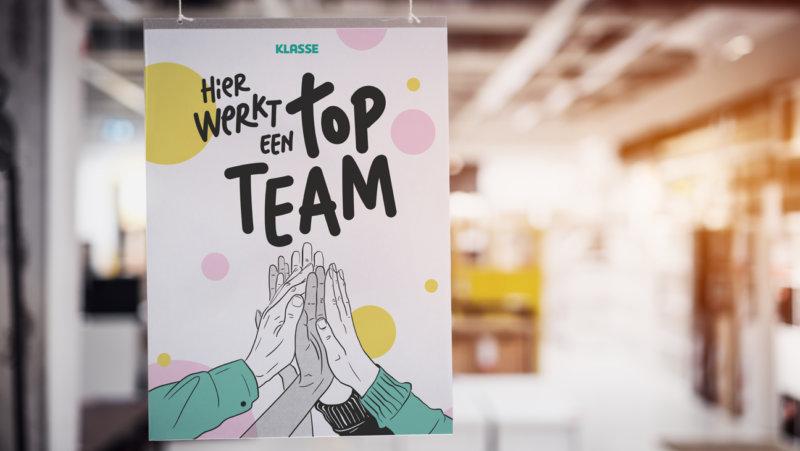 Poster Topteam - Dag van de Leraar