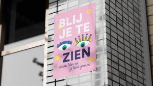 Poster: Blij je te zien
