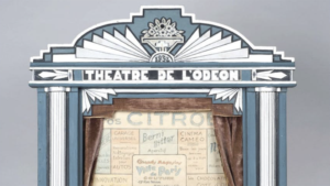 Campagnebeeld van de expo 'magical theatres'