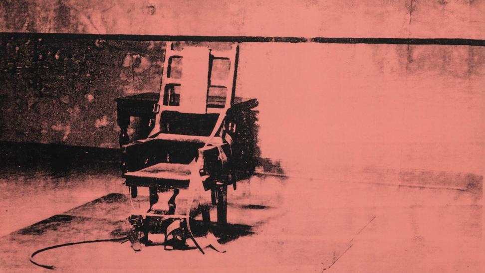 elektrische stoel van Andy Warhol